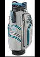 Torba golfowa Big Max AQUA DRIVE Cart Bag srebrno-kobaltowa
