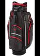 Torba golfowa Big Max AQUA DRIVE Cart Bag grafitowo-czarno-czerwona