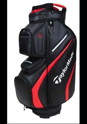 Torba golfowa TaylorMade Deluxe 2021 czarno-czerwona