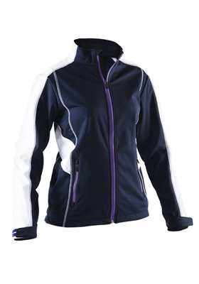 ABACUS LDS ABERDEEN SOFTSHELL JACKET 090-MIDNIGHT BLUE L 22250903