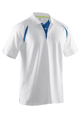 ABACUS MENS FLUME POLO 100-WHITE S 66151001