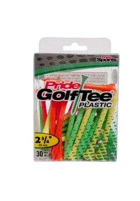 "Pride Plastic Golf Tee's 2.75"""