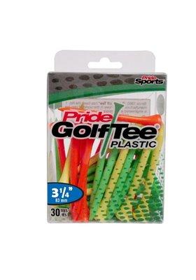 "Pride Golf Tee's 3.25"" FRUIT MIX Plastik 30 sztuk"