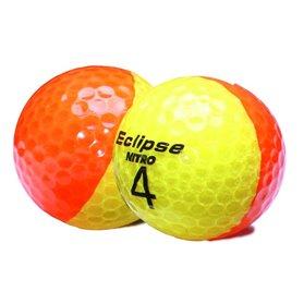 Dwukolorowe piłki NITRO ECLIPSE ● Pół tuzina