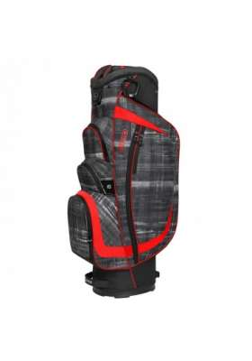 OGIO SHREDDER Cart Bag PARANORMAL/RED