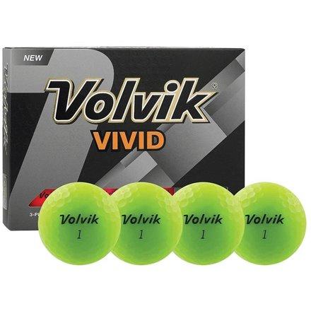 Piłki golfowe VOLVIK VIVID Zielone