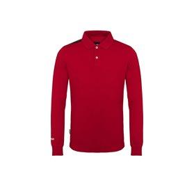 Polo z długim rękawem COLMAR Czerwone