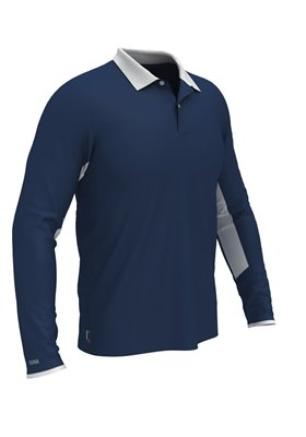 Colmar Polo Longsleeve BLUE/WHITE