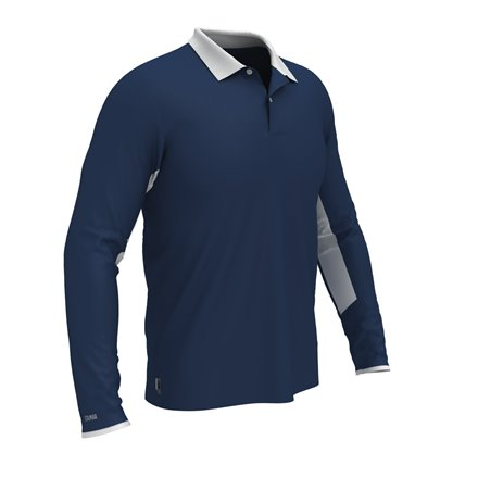 Colmar Polo Longsleeve BLUE/WHITE
