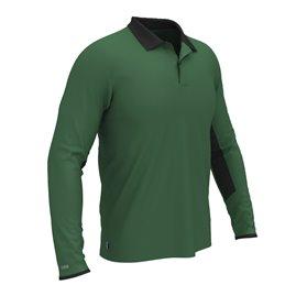 Colmar Polo Longsleeve GREEN/BLACK