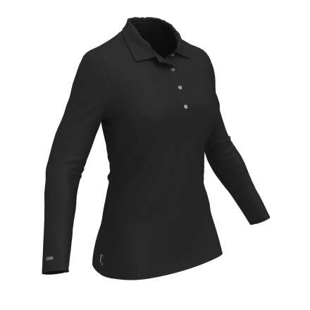 Colmar Koszulka Polo Longsleeve Damska BLACK