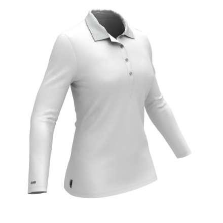 Colmar Koszulka Polo Longsleeve Damska WHITE