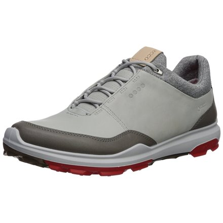 ECCO BIOM HYBRID 3 ConcreteScarlet Golf Team