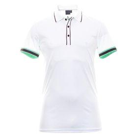 Koszulka polo Cross GEO STRIPE Biała ● 2018