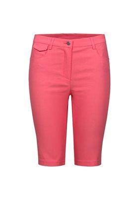 Spodnie streczowe damskie Różowe ● 2018