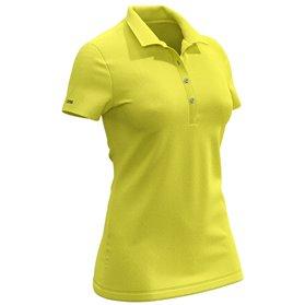 Koszulka polo pikowana COLMAR Żółta ● 2018