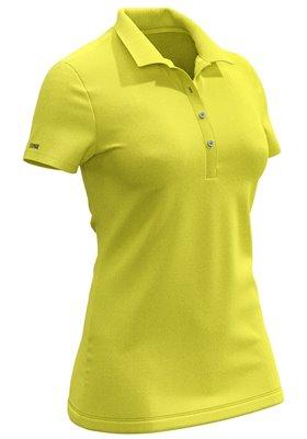 Koszulka polo damska COLMAR Żółta ● 2018