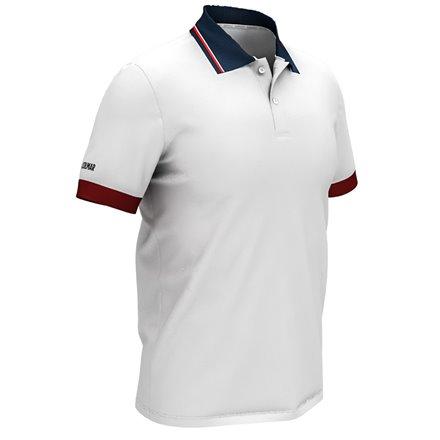 Koszulka polo męska COLMAR Biała ● 2018