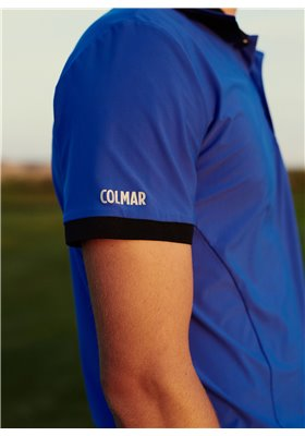 Koszulka polo męska COLMAR Niebieska ● 2018