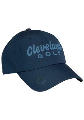 Czapka Cleveland+ball marker Błękitne logo