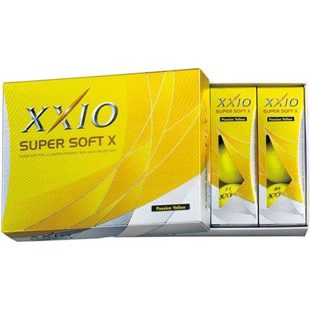 Piłeczki XXIO Super Soft X Żółte