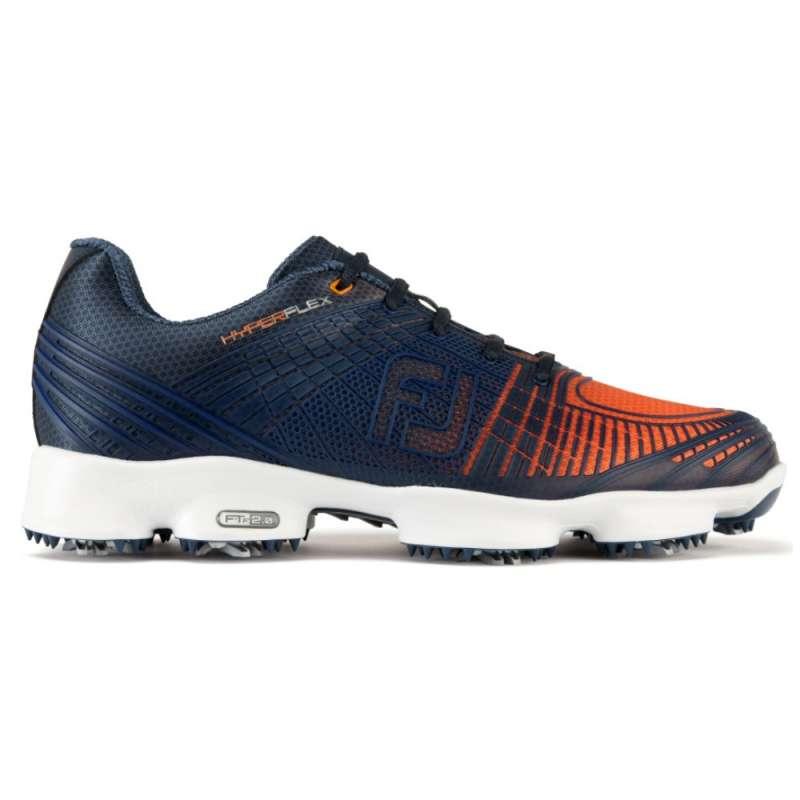 c4dc8176 Buty męskie FootJoy HYPERFLEX II Niebieski/Pomarańczowy. Loading zoom