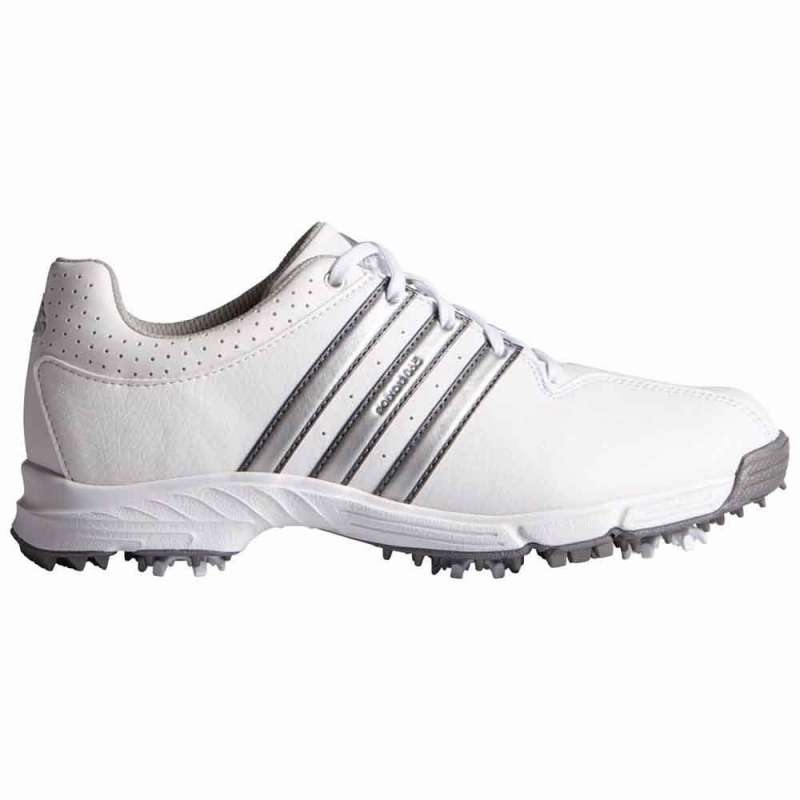 low cost 0af98 ace83 Buty Adidas 360 Traxion Junior Białe. Loading zoom