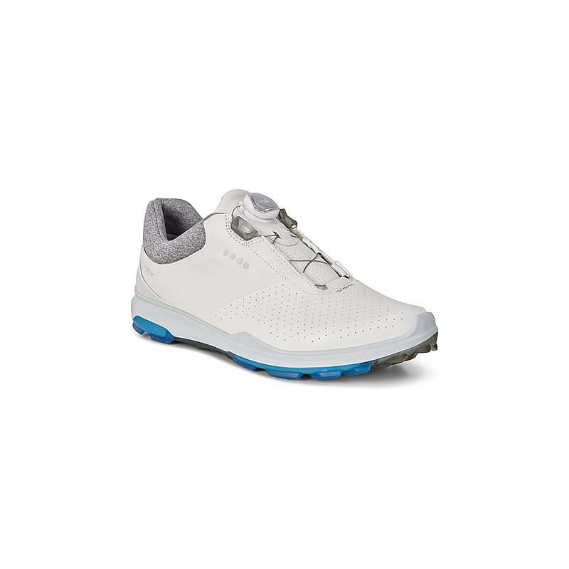 06d06700263b78 ECCO BIOM HYBRID 3 BOA White/Dynasty - Golf Team