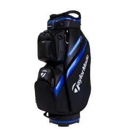 TaylorMade Deluxe Cart Bag niebiesko-czarna