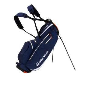 TaylorMade FlexTech Waterproof Stand Bag granatowo-biało-czerwona