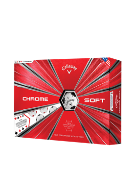 Callaway Chrome Soft TRUVIS kolory karciane
