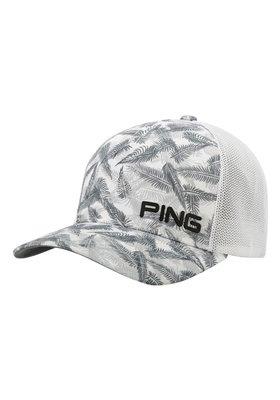 PING Pattern Mesh Biała