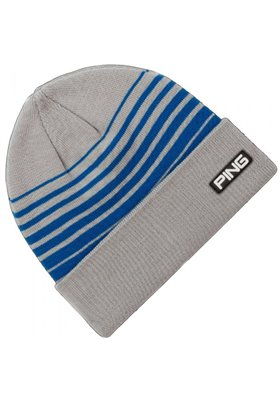 PING Stripe Knit szaro - niebieska