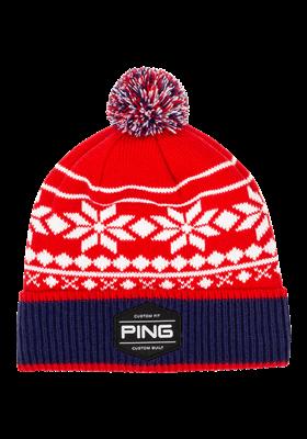PING Bergen Knit czerwono - biało - granatowa