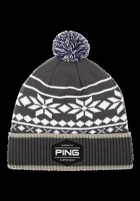 PING Bergen Knit szaro - biała