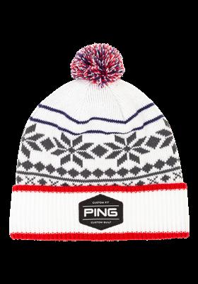 PING Bergen Knit biało - granatowo - czerwona