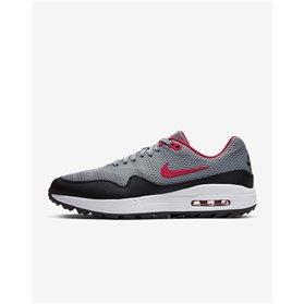 Buty męskie Nike Air Max 1 G Szaro-czarno-czerwone
