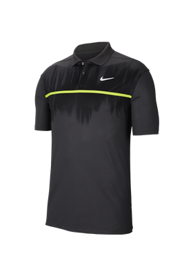 Koszulka polo NIKE Dry Vapor smoke grey-black