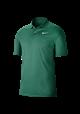 Koszulka polo NIKE Dry VCTRY solid neptune green-white