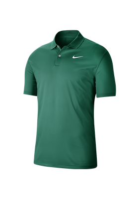 Koszulka polo NIKE Dry VCTRY solid neptune green-white