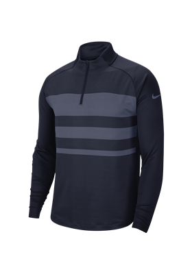 Bluza NIKE Dry VAPOR TOP obsidian-diffused blue-obsidian