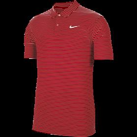 Koszulka polo NIKE Dry Essential stripe university red-white