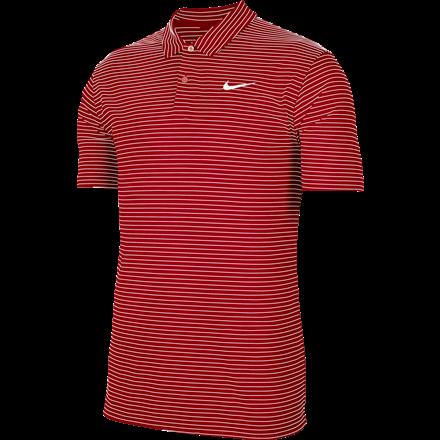Koszulka polo NIKE Dry Essential stripe university red