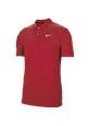 Koszulka polo NIKE Dry Essential stripe university red-white