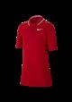 Koszulka polo juniorska Nike Dry VCtRY university red-white