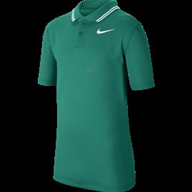 Koszulka polo juniorska Nike Dry VCTRY neptune green