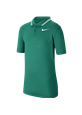 Koszulka polo juniorska Nike Dry VCTRY neptune green