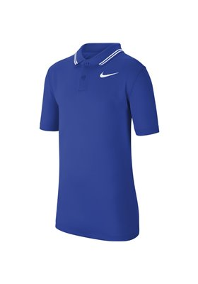 Koszulka polo juniorska Nike Dry VCTRY game royal