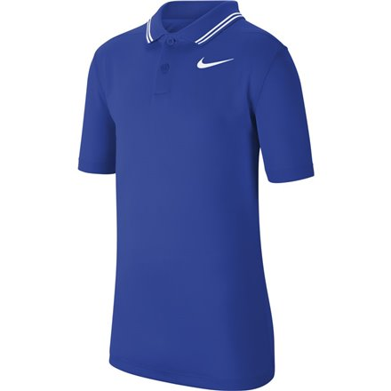 Koszulka polo juniorska Nike Dry VCTRY game royal