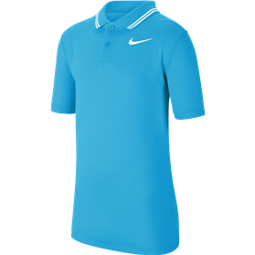 Koszulka polo juniorska Nike Dry VCTRY blue fury